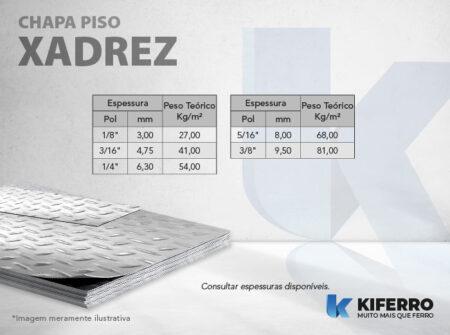 Chapa Piso Xadrez